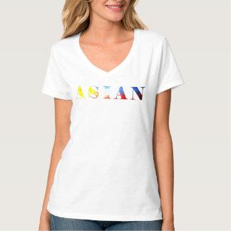 ASIÁTICO - bandeira filipino Camiseta