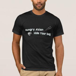 Asiático com fome…. camiseta