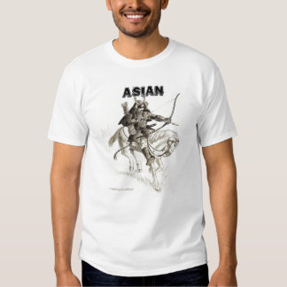 asiático e ninja tshirt
