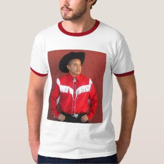 asiático-vaqueiro camiseta