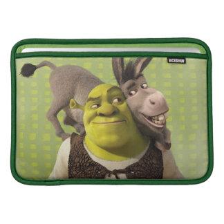 Asno e Shrek Bolsa Para MacBook Air