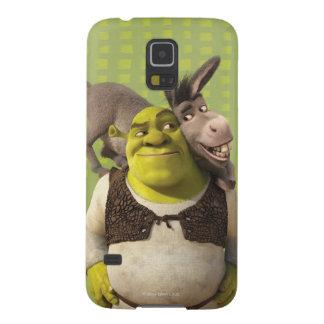 Asno e Shrek Capa Para Galaxy S5