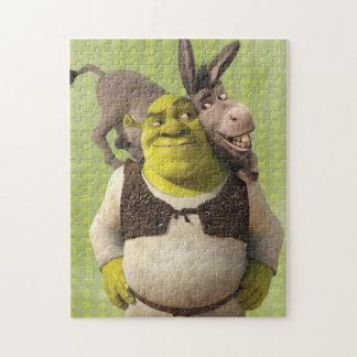 Asno e Shrek Quebra-cabeças