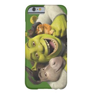 Asno, Shrek, e Puss nas botas Capa Barely There Para iPhone 6
