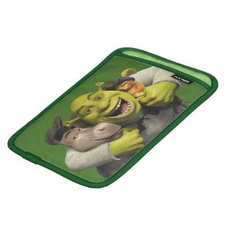 Asno, Shrek, e Puss nas botas Luvas De iPad Mini