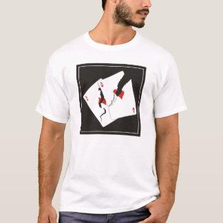 Áss rachados camiseta