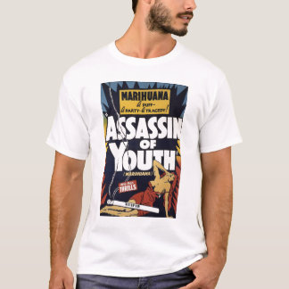 """Assassino camiseta da juventude"""