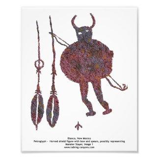 Assassino do monstro, foto 8x10 da imagem 1 do hom impressão de foto