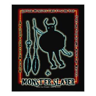 Assassino do monstro impressão de foto