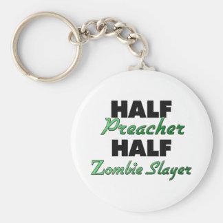 Assassino do zombi do meio pregador meio chaveiro