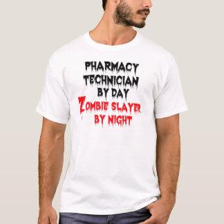 Assassino do zombi do técnico da farmácia camiseta