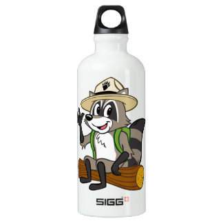Assento do rick da guarda florestal do rick | da garrafa d'água