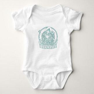 Assento novo asiático na flor de Lotus Body Para Bebê