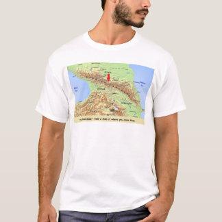 Assim… você é caucasiano? camiseta