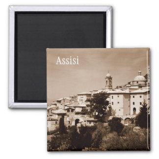 Assisi Ímã Quadrado