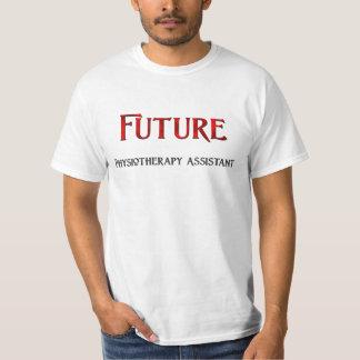 Assistente futuro da fisioterapia camiseta