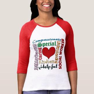 Assistente social camisetas