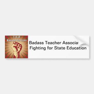 Associação do professor de Badass Adesivo Para Carro