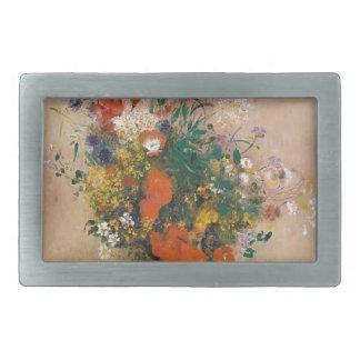 Assortion das flores no vaso