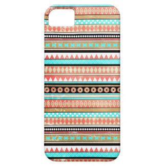 Asteca na moda capa barely there para iPhone 5