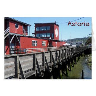 Astoria, Oregon Cartão De Nota