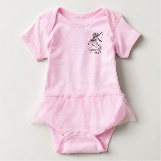 Astrologia da caída da camisa do tutu do bebê do