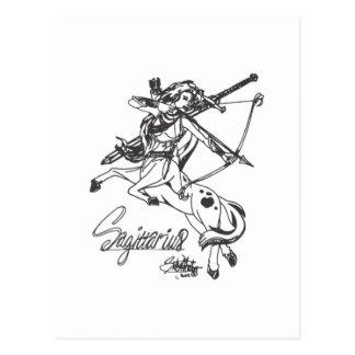 Astrologia da caída do cartão do Sagitário