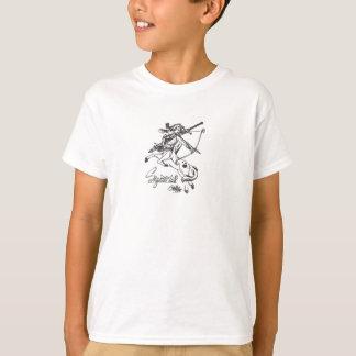 Astrologia da parte superior da caída da camiseta