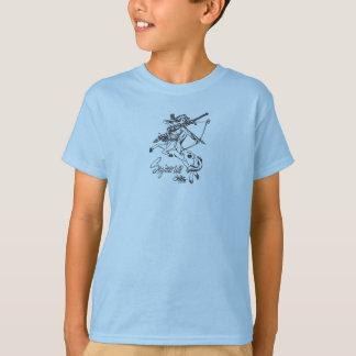 Astrologia da roupa da caída da camisa dos meninos