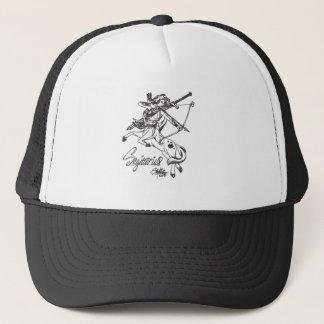 Astrologia do chapéu da caída do boné do Sagitário