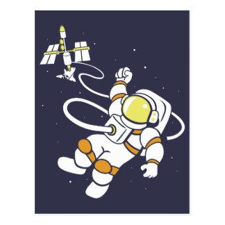 Astronauta Cartão Postal