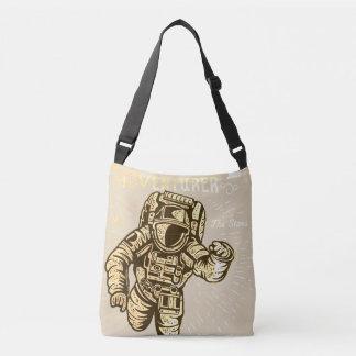 Astronauta da aventura do espaço de Bage do bolsa