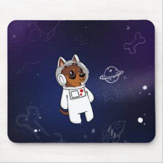 Astronauta mínimo do Pin no espaço Mousepad