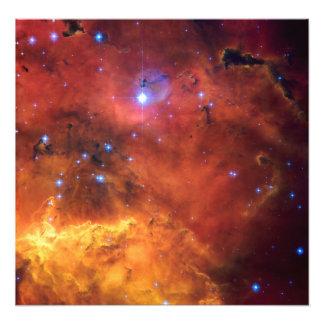 Astronomia de espaço da NASA da nebulosa NGC 2647 Impressão De Foto