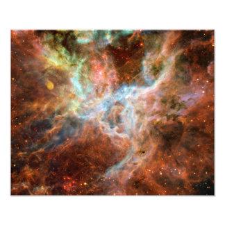 Astronomia de espaço da nebulosa do Tarantula Impressão De Foto