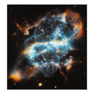 Astronomia de espaço da nebulosa NGC 5189 Impressão De Foto