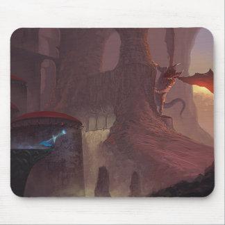 Ataque do dragão mousepad