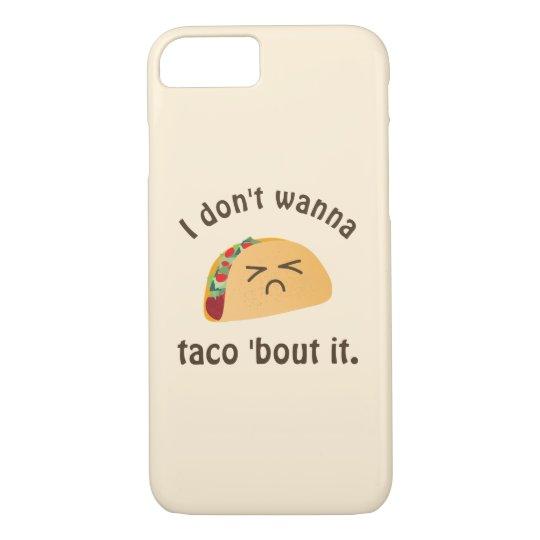 Ataque do Taco 'ele humor engraçado da chalaça da Capa iPhone 7