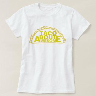 Ataque do Taco impressionante T-shirt