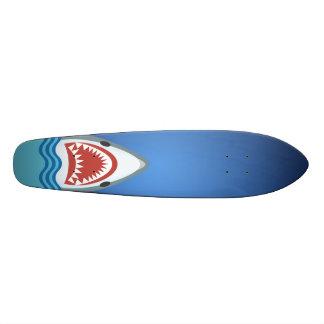 Ataque do tubarão shape de skate 18,7cm