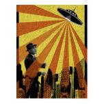 Ataque do UFO Cartão Postal