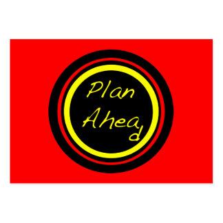 ATC do plano adiante Cartões De Visitas