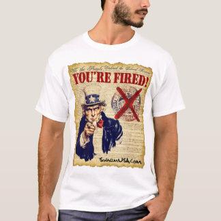 Ateie fogo à camisa de Fed