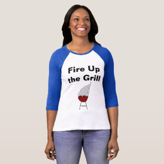 """""""Ateie fogo acima camisa do Dia do Trabalhador à"""