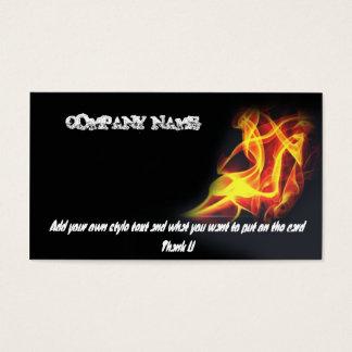 ateie fogo ao cartão de negócios um, NOME DA