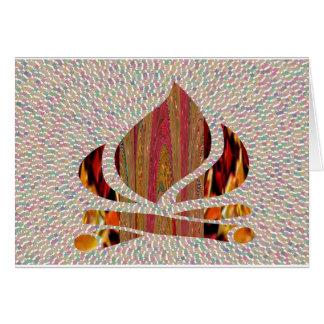 ATEIE FOGO ao símbolo da chama do festival do Cartoes
