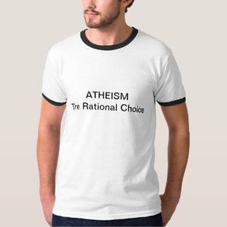 Ateísmo: A escolha racional Camisetas