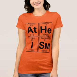 Ateísmo (ateísmo) - cheio camiseta