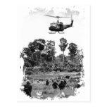 Aterragem de Vietnam Huey Cartão Postal