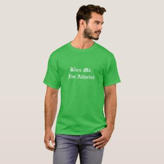 Ateu irlandês camiseta